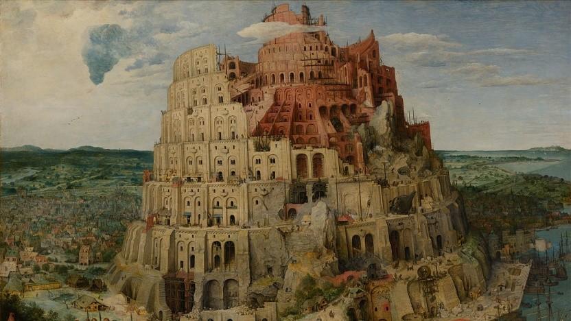 Durcheinander wie beim Turmbau zu Babel (Pieter Bruegel der Ältere): die verschiedenen Sprachversionen von Javascript