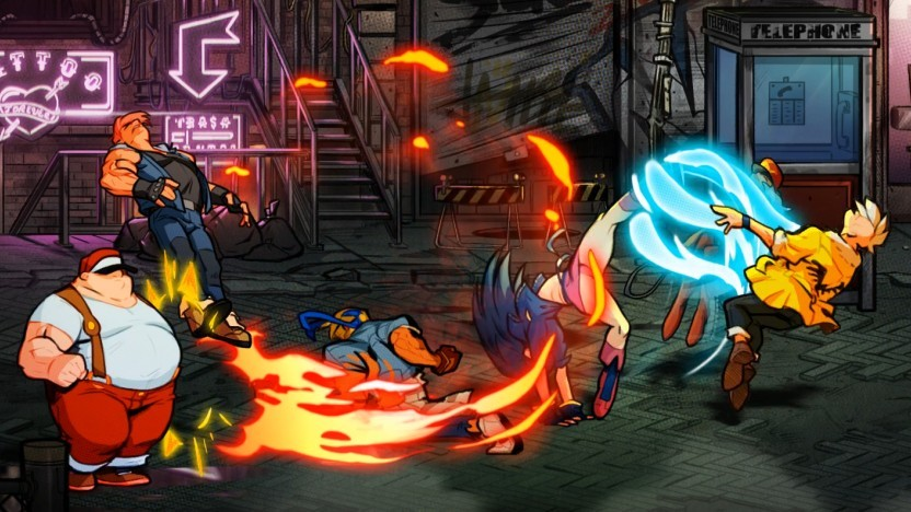 Artwork von Streets of Rage 4