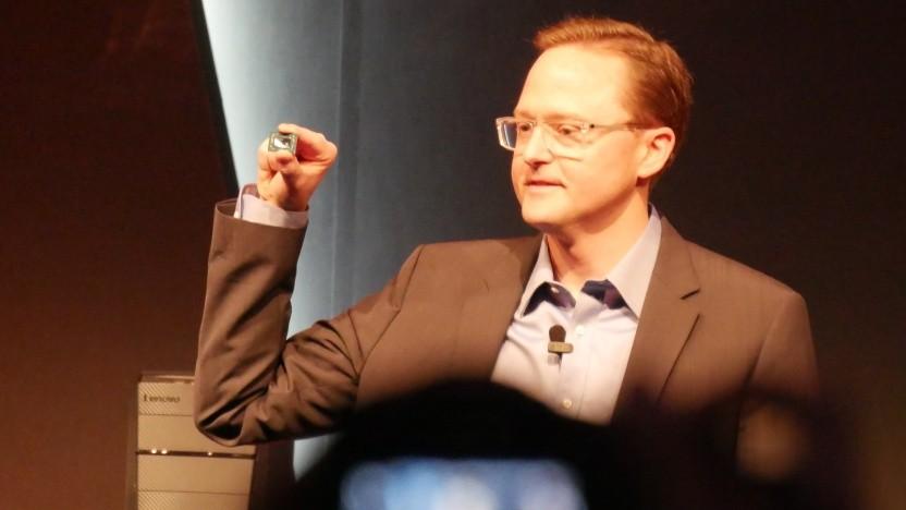 Jim Anderson auf der Computex 2017, noch bei AMD