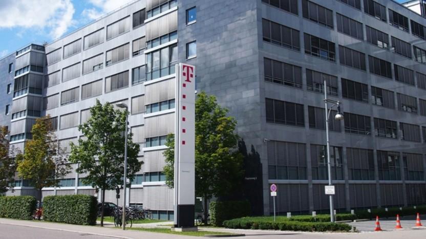 Gebäude von T-Systems