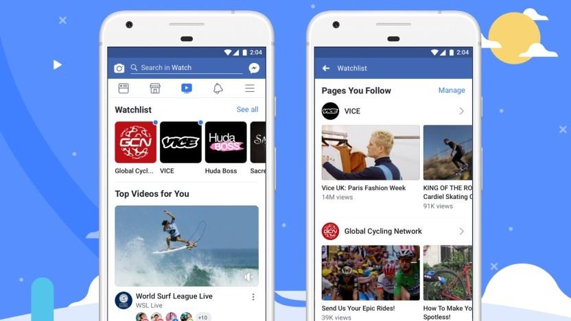 Facebook Watch ist in Deutschland über die iOS- und Android-App verfügbar.