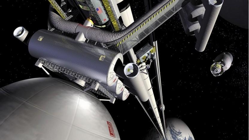 Nasa-Konzept für einen Weltraumaufzug: Woraus besteht das Seil?
