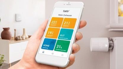 Die neue App zu den V3+-Thermostaten