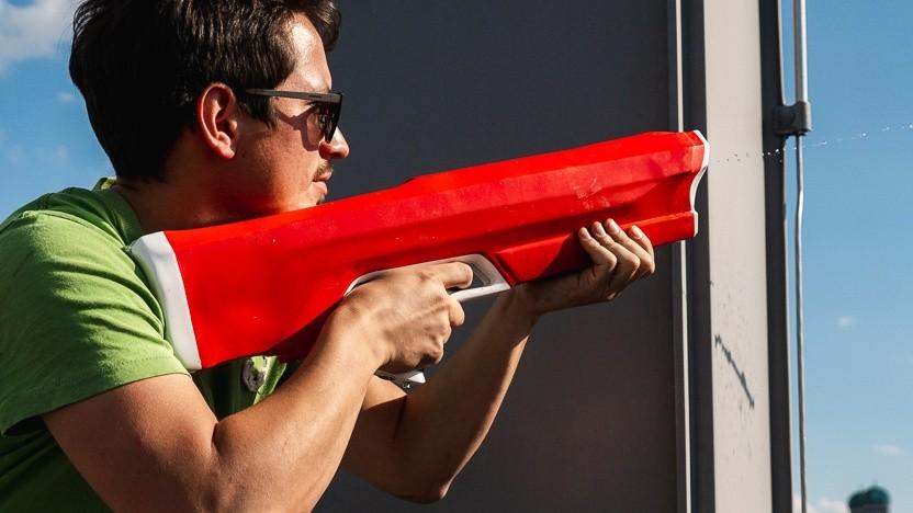 Spyra One ist eine Wasserpistole mit vielen Funktionen.