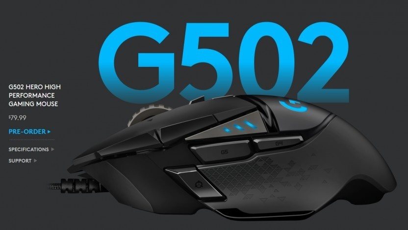 G502 in der Hero-Version