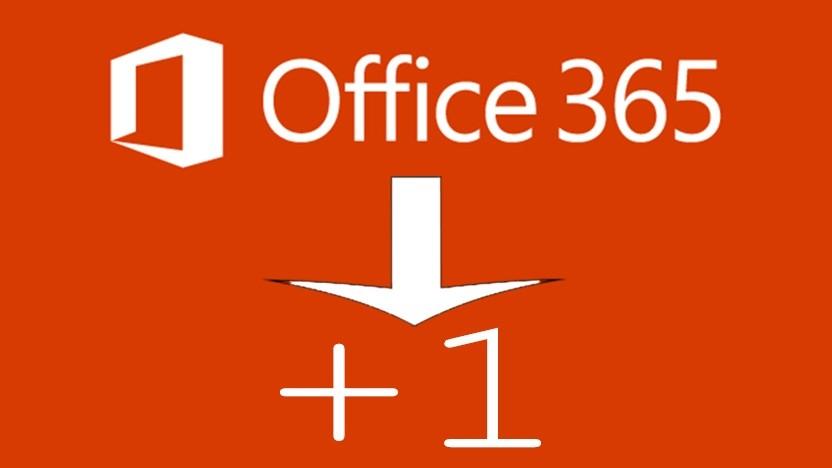 Office 365 ermöglicht einen weiteren Nutzer pro Abo.