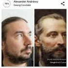 Art Selfie: Googles Gemälde-Doppelgänger in Deutschland verfügbar
