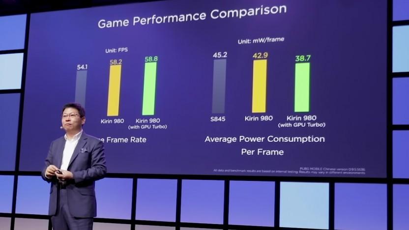 Der GPU Turbo steigert die Bildrate und Effizienz in Spielen.
