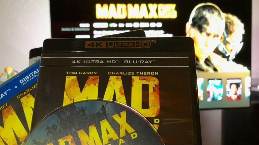 Mad Max als Blu-ray, Ultra-HD-Blu-ray und Digitalfassung