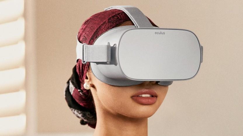 Artwork mit Oculus Go