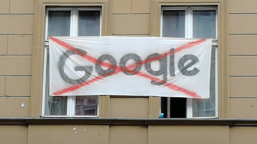 Google ist bei manchen Anwohnern in Berlin-Kreuzberg nicht besonders beliebt.