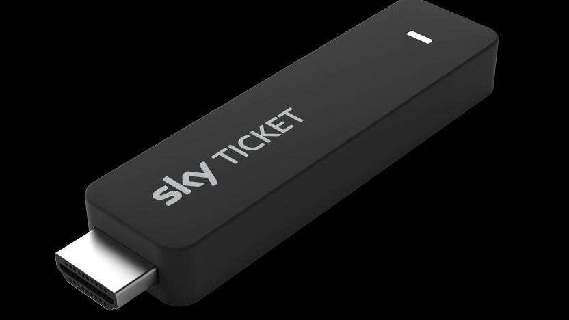 Sky Ticket TV Stick wird mit Sky-Abos kostenlos abgegeben.