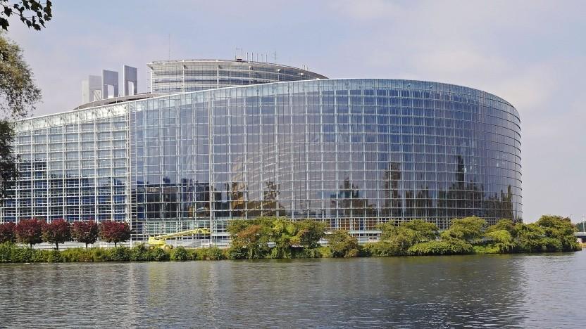 Das Europäische Parlament. Hier wird morgen abgestimmt.