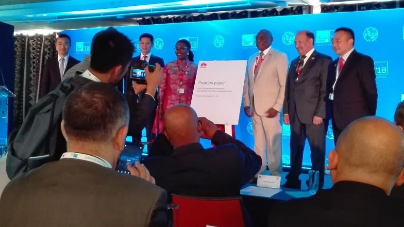 Bei der ITU-Veranstaltung in Durban