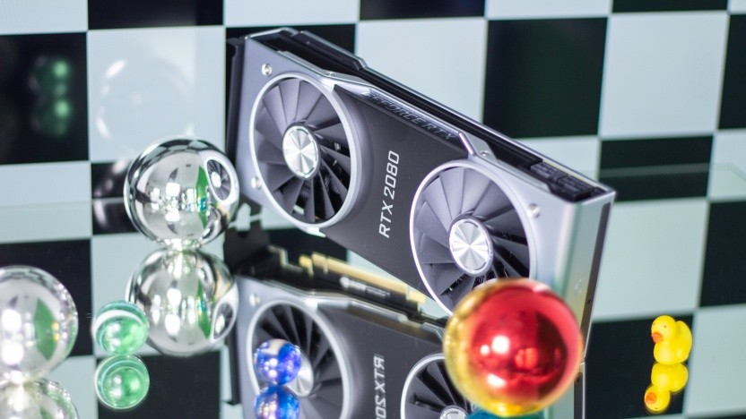 Eine Geforce RTX 2080 mit Realtime-Reallife-Raytracing!