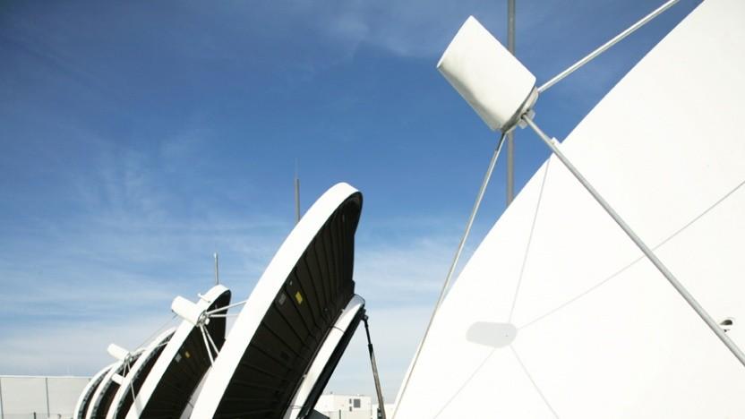 Satellitenanlagen am Standort Kerpen: Hier befindet sich das technische Herzstück von Unitymedia, das Netzbetriebszentrum.