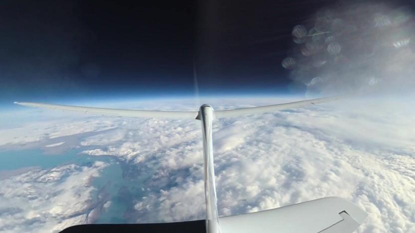 Perlan Project: Segelflieger surft zum Höhenrekord.