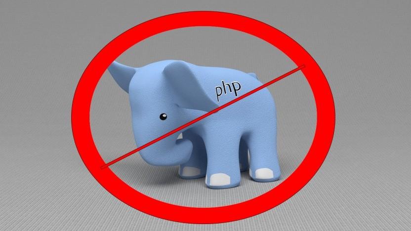 HHVM entfernt den PHP-Support.
