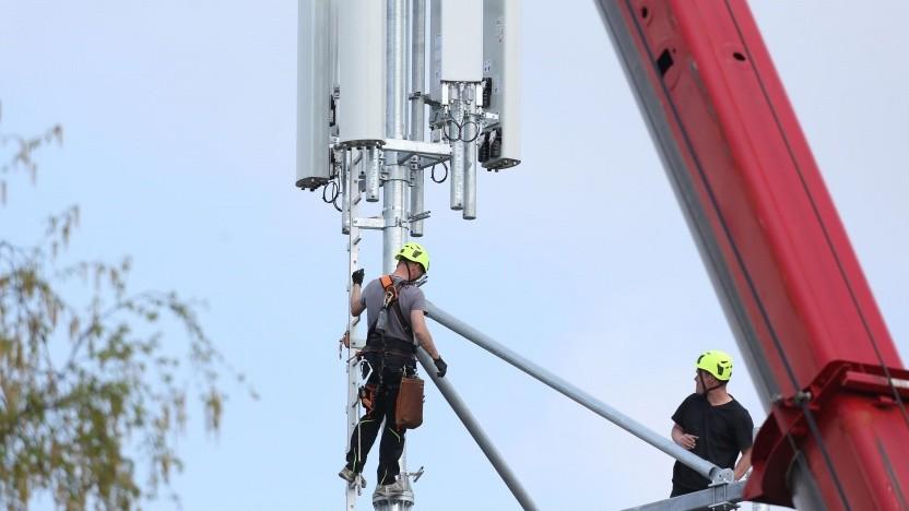 Mobilfunkausbau der Telekom