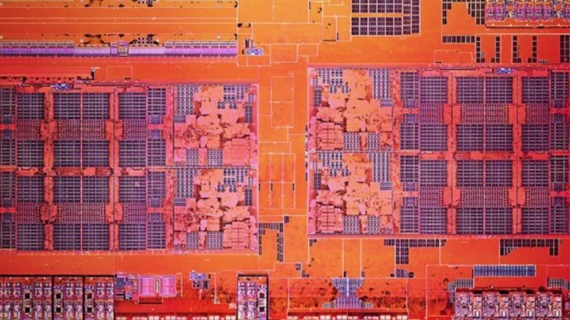 AMDs Raven Ridge vereint GPU und CPU auf einem Chip. Hier zu sehen: Summit Ridge.