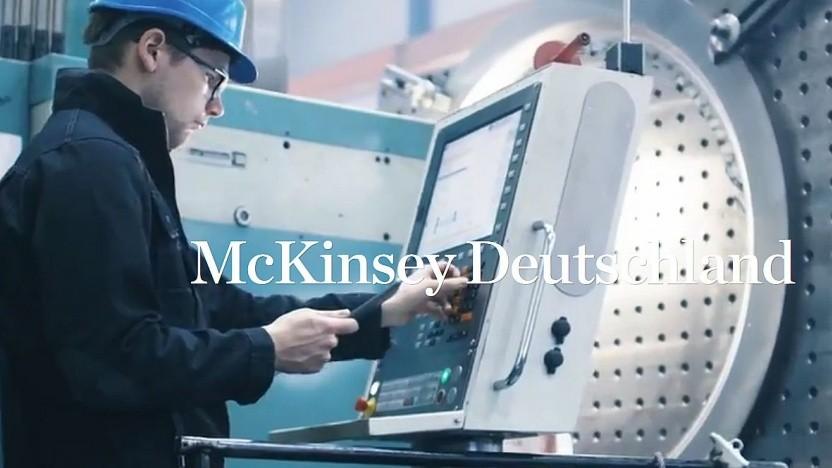 Werbegrafik bei McKinsey