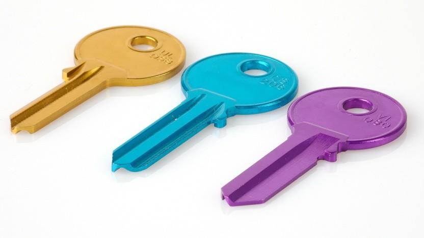 Mit Schlüsseln statt Passwörtern einloggen: Bei Webauthn muss noch an der Sicherheit gefeilt werden.