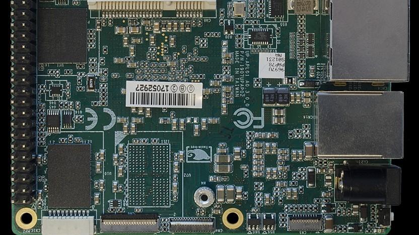 Der Slim Bootloader läuft unter anderem auf dem Board UP Squared.