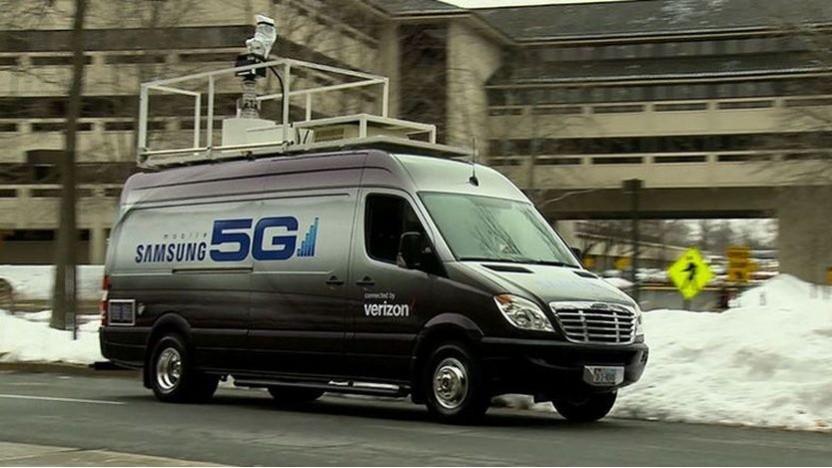 5G Mobile und Fixed-Wireless-Tests am Verizon-Hauptsitz im Jahr 2016