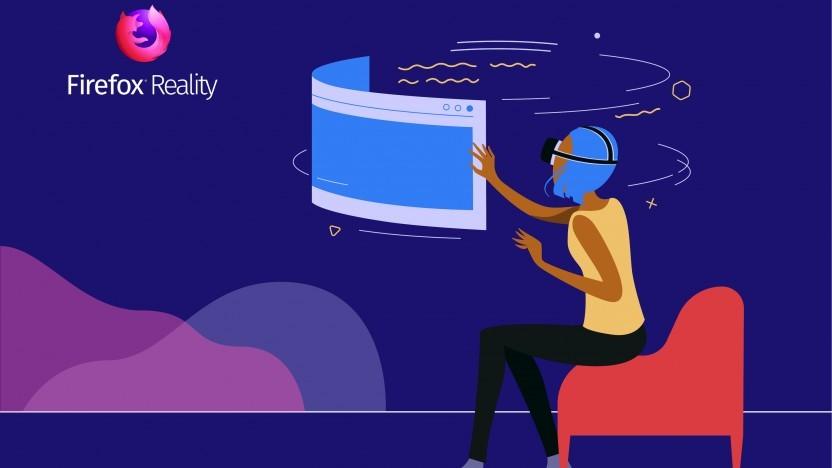 Firefox Reality läuft in verschiedenen VR-Headsets.