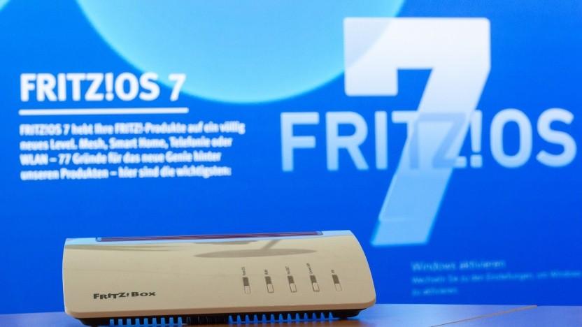 FritzOS 7 ist kostenlos für viele Fritzboxen verfügbar. Hier: die Fritzbox 7590