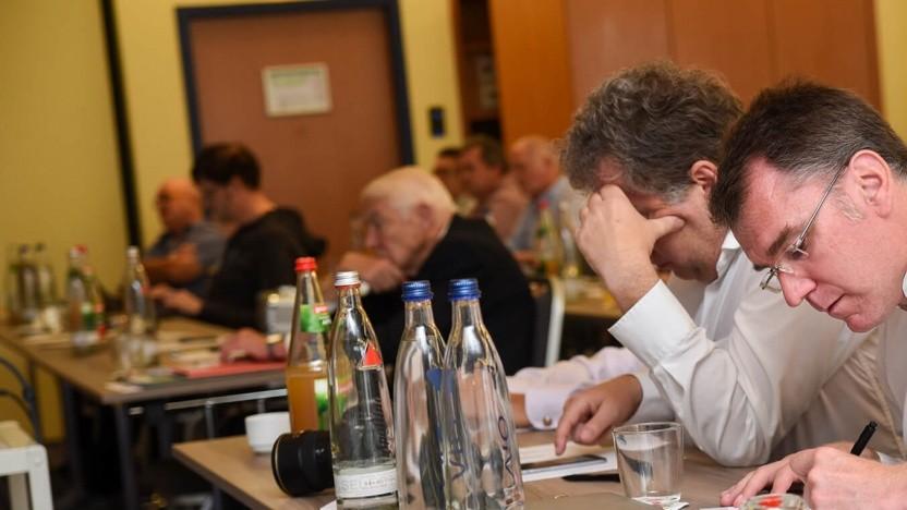 Auf dem Breitbandkongress des FRK
