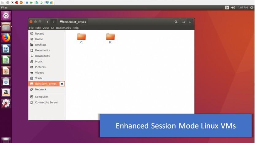Eine optimierte Variante von Ubuntu ist nun für Hyper-V verfügbar.