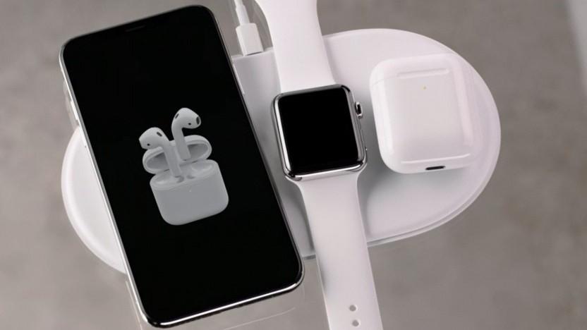 Apples induktive Ladestation Airpower