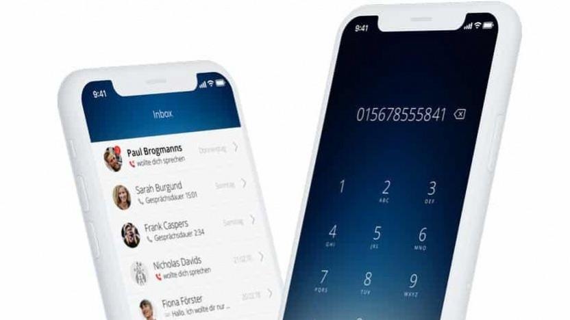 Die SIM-App, hier noch für iOS