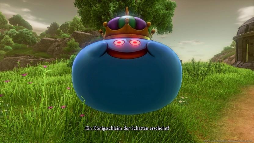 Ein Königs-Schleim in Dragon Quest 11