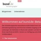 Digitale Verwaltung: Der Bund schaltet sein Online-Bürgerportal frei