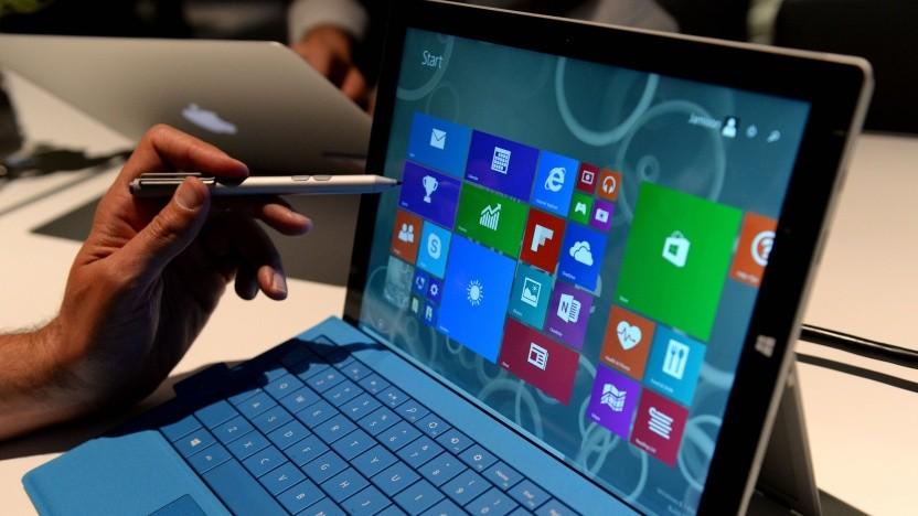 Mit Touchdisplay und Handschriftenerkennung füllt Windows fleißig die WaitList.dat.
