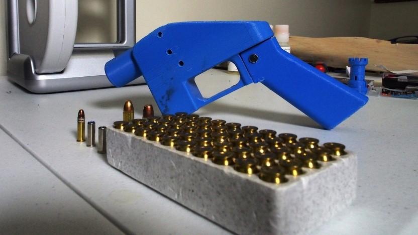 Eine Waffe vom Typ Liberator aus dem 3D-Drucker
