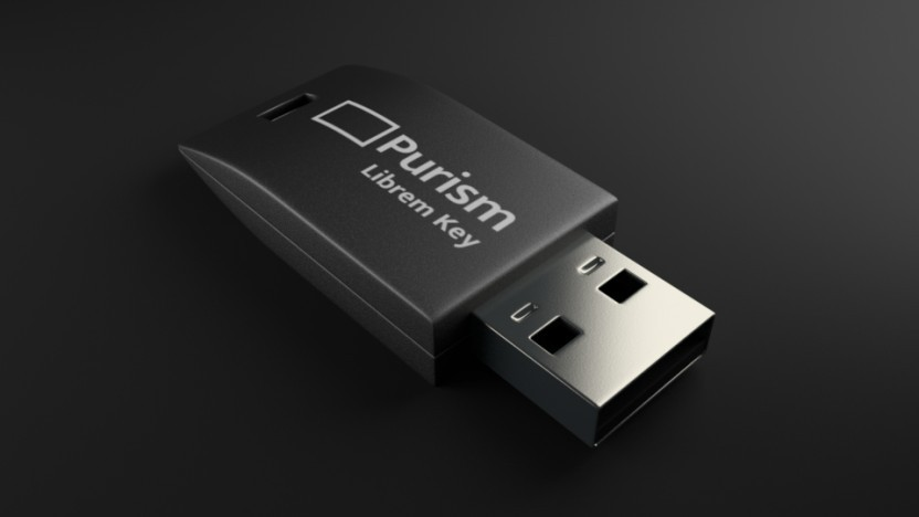 Purism heit den Librem Key vorgestellt.
