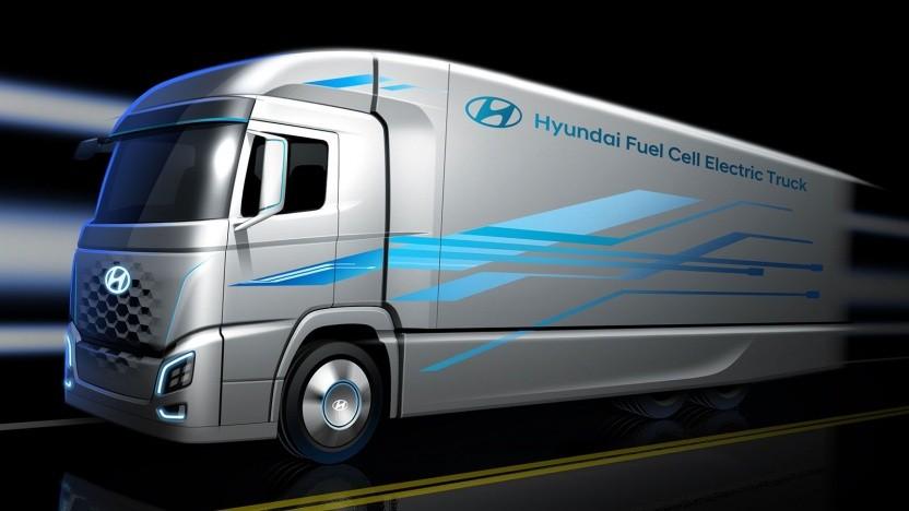 Hyundai Fuel Cell Electric Truck: 1.000 Fahrzeuge für die Schweiz