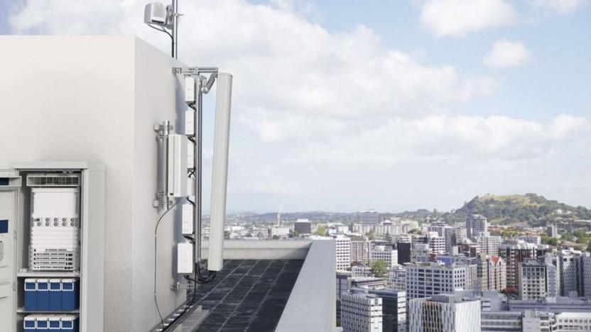 5G-fähige Mobilfunkanlage von Ericsson