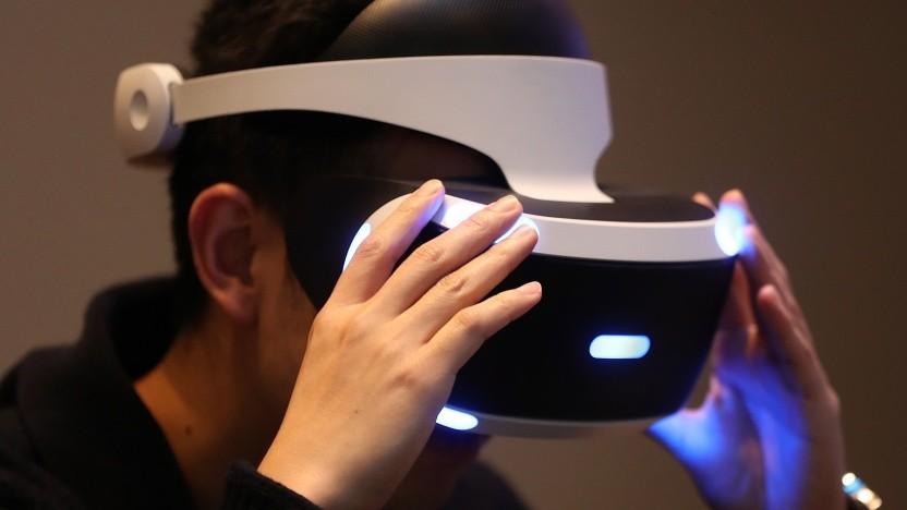 Anwender mit Playstation VR