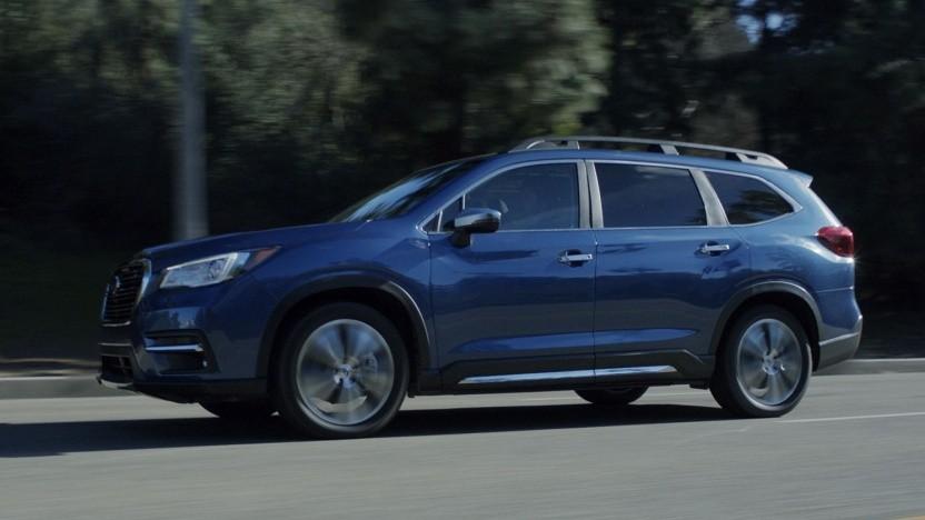 Subaru Acent: Schweißpunkte an der B-Säule ausgelassen