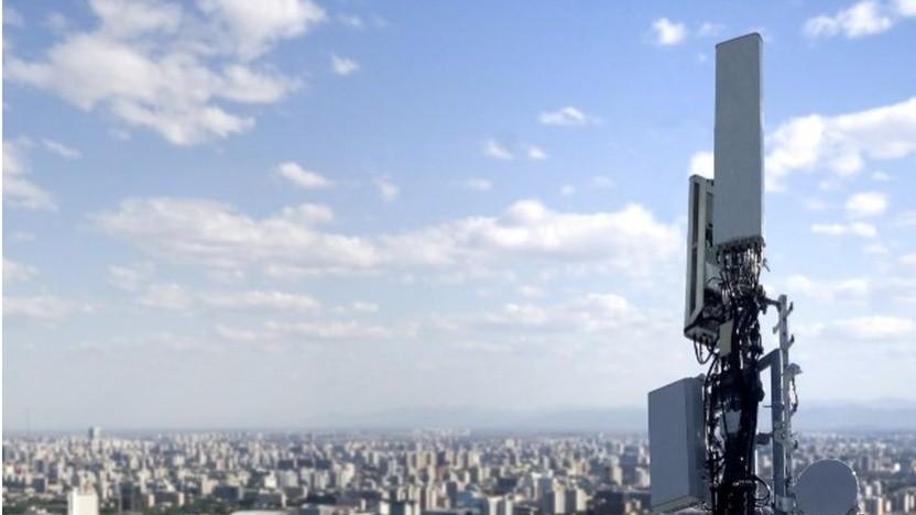 Mobilfunkantenne von Huawei