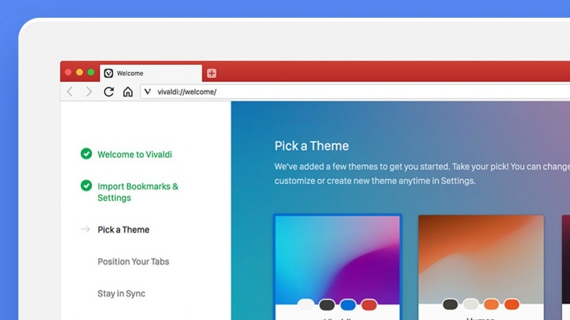 Vivaldi 2.0 ist verfügbar.