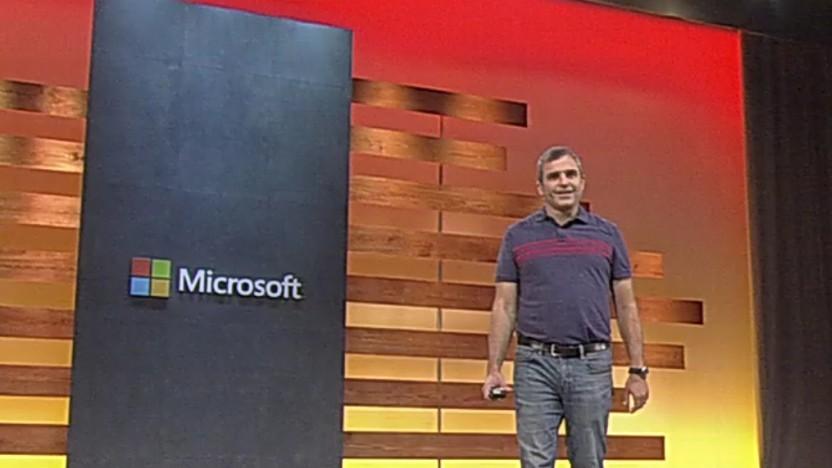 Eric Boyd, Corporate Vice President, Azure AI bei Microsoft, stellt die neuen KI-Funktionen von Azure vor.