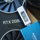 Virtual Link ausprobiert: Geforce RTX lädt Smartphone oder überträgt SSD-Daten