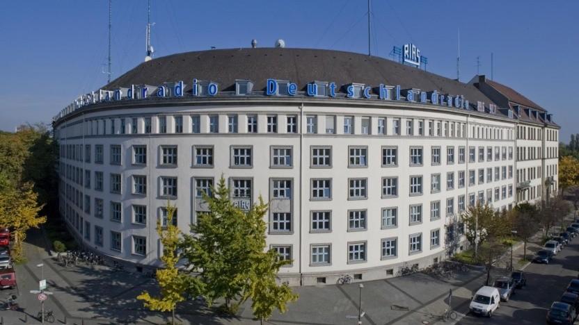 Das Deutschlandradio-Funkhaus in Berlin