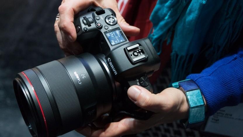 Canon EOS R: Der Fotograf kann seine Kamera personalisieren.