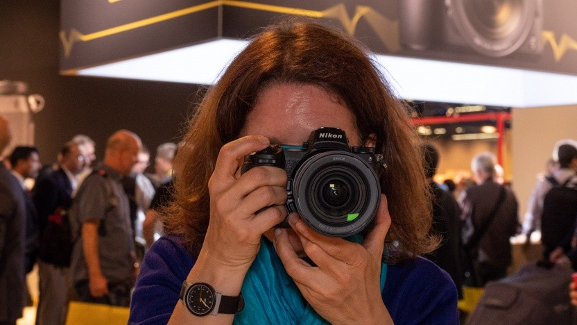 Nikon Z-Serie im Golem.de-Hands-on: kein Klapp-Schwenk-Display